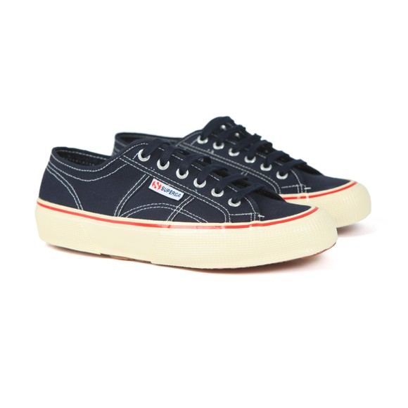 Superga Mens Blue 2490 Cotu Canvas Trainer main image