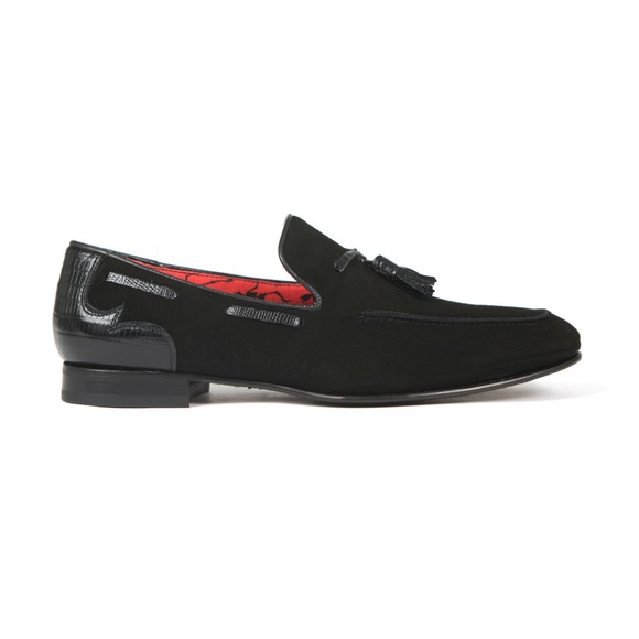 Jeffery West Mens Black Martini Loafer