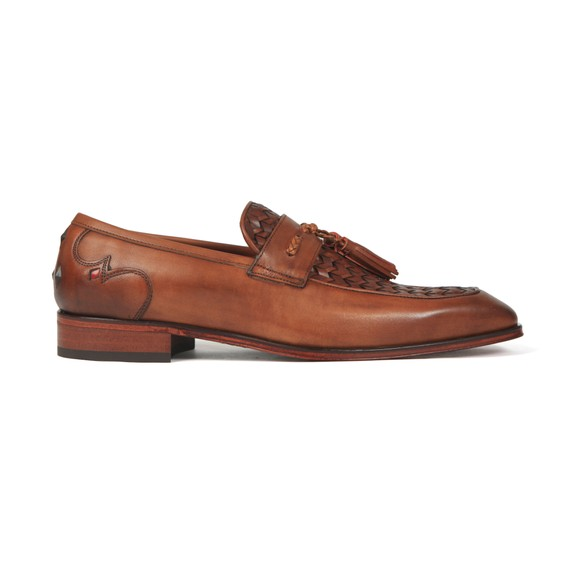 Jeffery West Mens Brown Soprano Loafer