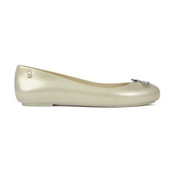 Vivienne Westwood Anglomania X Melissa Womens Off-White Space Love 23 Cut Out Orb Shoe main image