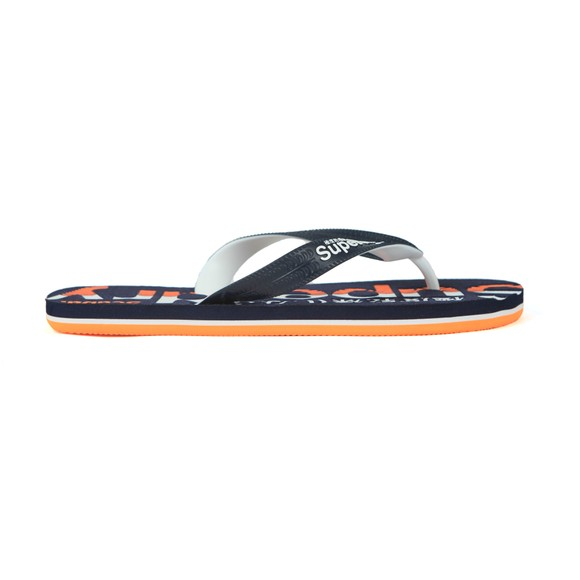 Superdry Mens Blue Scuba Flip Flop