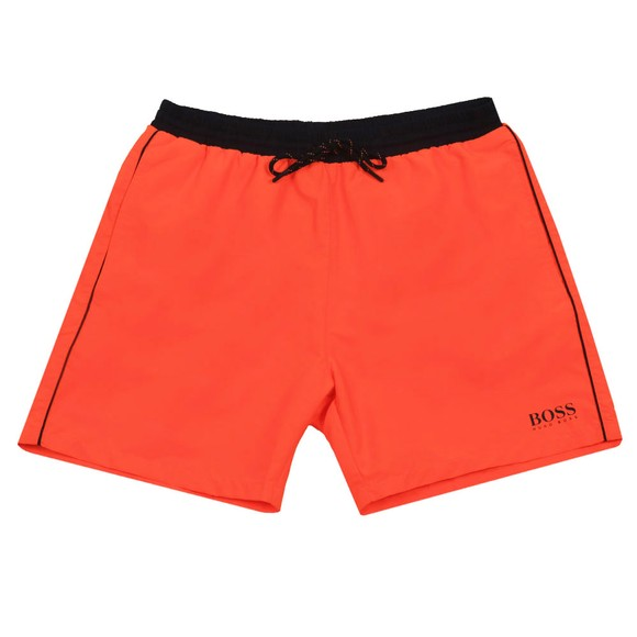 BOSS Bodywear Mens Orange Starfish Swim Short