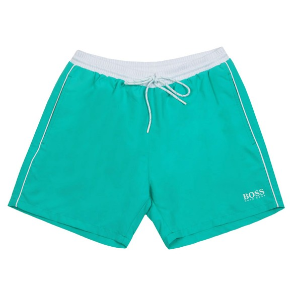 BOSS Bodywear Mens Green Starfish Swim Short