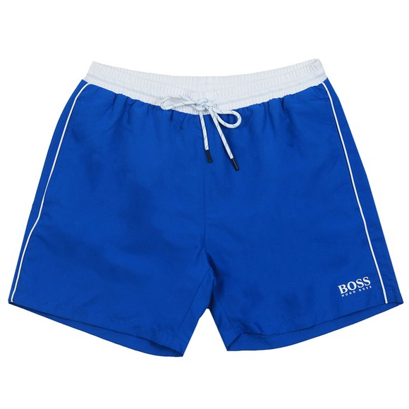 BOSS Bodywear Mens Blue Starfish Swim Short