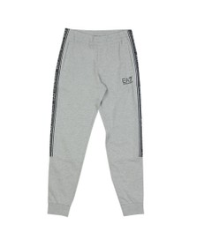 EA7 Emporio Armani Mens Grey Taped Jogger