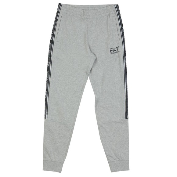 EA7 Emporio Armani Mens Grey Taped Jogger main image