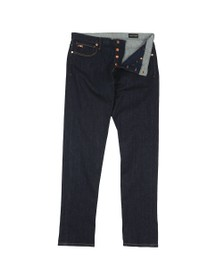 Emporio Armani Mens Blue J75 Slim Fit Jean