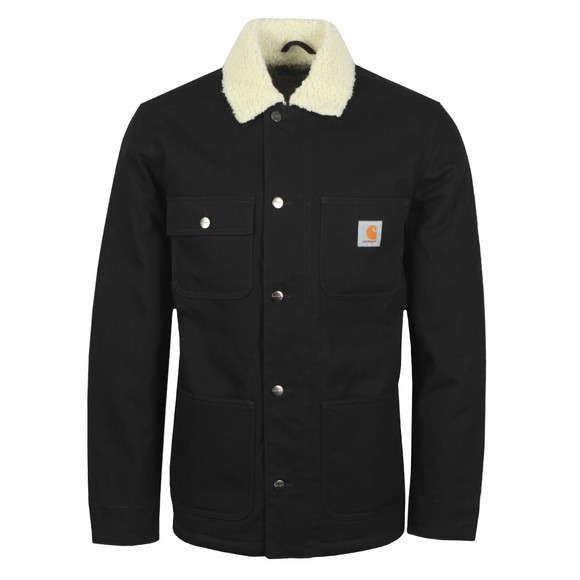 Carhartt WIP Mens Black Fairmount Coat main image