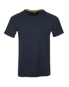 BOSS Bodywear Mens Blue Fashion Tape T Shirt