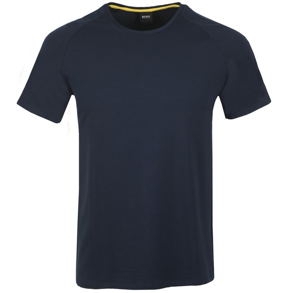 BOSS Bodywear Mens Blue Fashion Tape T Shirt