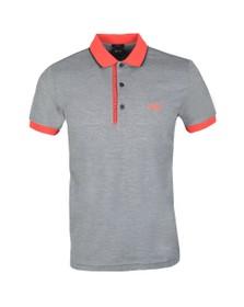 BOSS Mens Blue Athleisure Paule 4 Polo Shirt