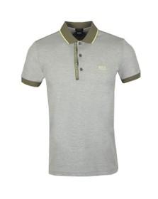 BOSS Mens Beige Athleisure Paule 4 Polo Shirt