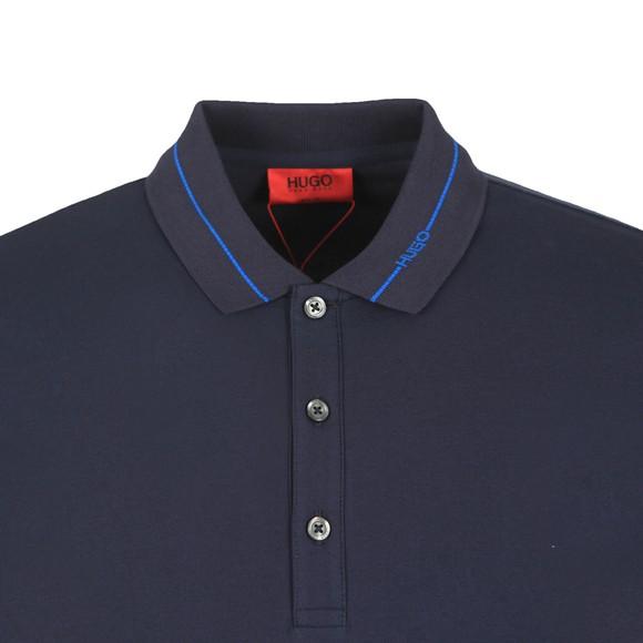 HUGO Mens Blue Demoso202 Polo Shirt