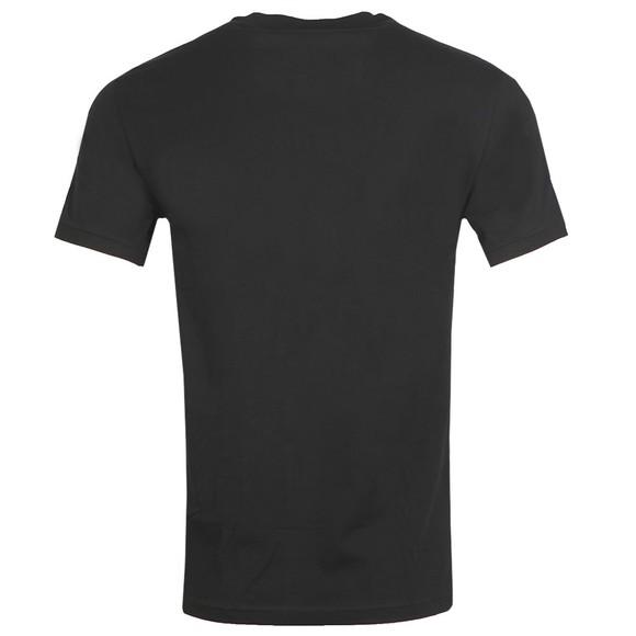 Emporio Armani Mens Black Tape Logo Stretch T Shirt main image