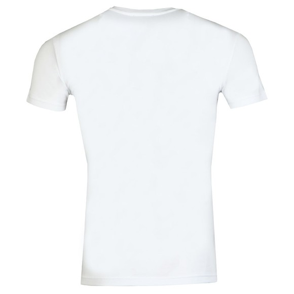 Emporio Armani Mens White New Megalogo Stretch T Shirt main image