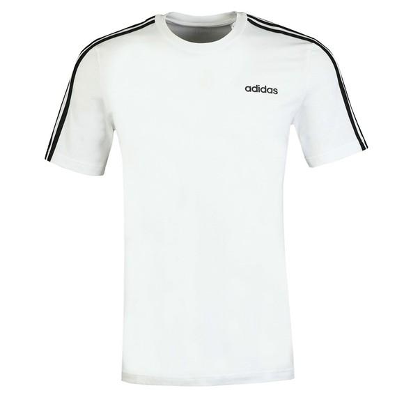 adidas Mens White Essentials T-Shirt