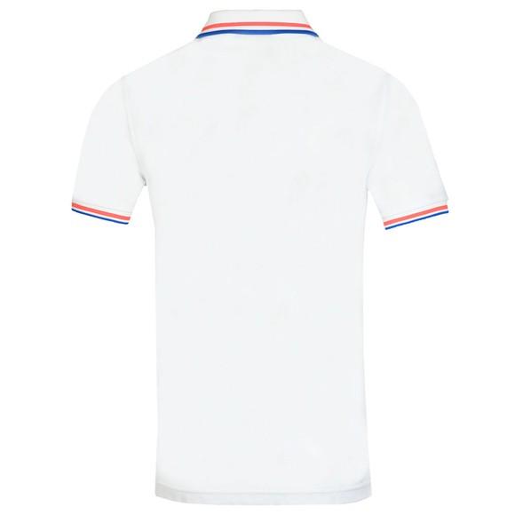 Psycho Bunny Mens White Reardon Pocket Polo Shirt main image