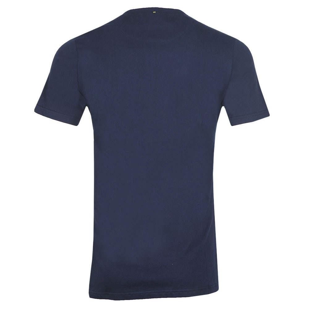 Paisley Chest Embroidery T-Shirt main image