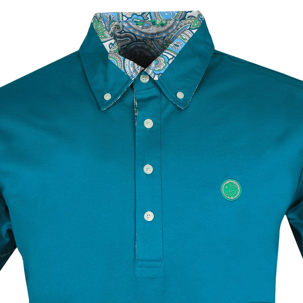 Paisley Print Collar Polo Shirt main image
