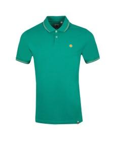 Pretty Green Mens Green Tipped Polo Shirt
