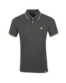 Pretty Green Mens Grey Tipped Polo Shirt