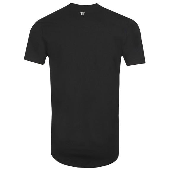 Eleven Degrees Mens Black Asymetric T-Shirt main image