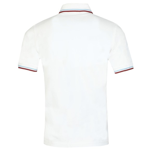 Fred Perry (Reissues) Mens White Tipped Polo Shirt main image