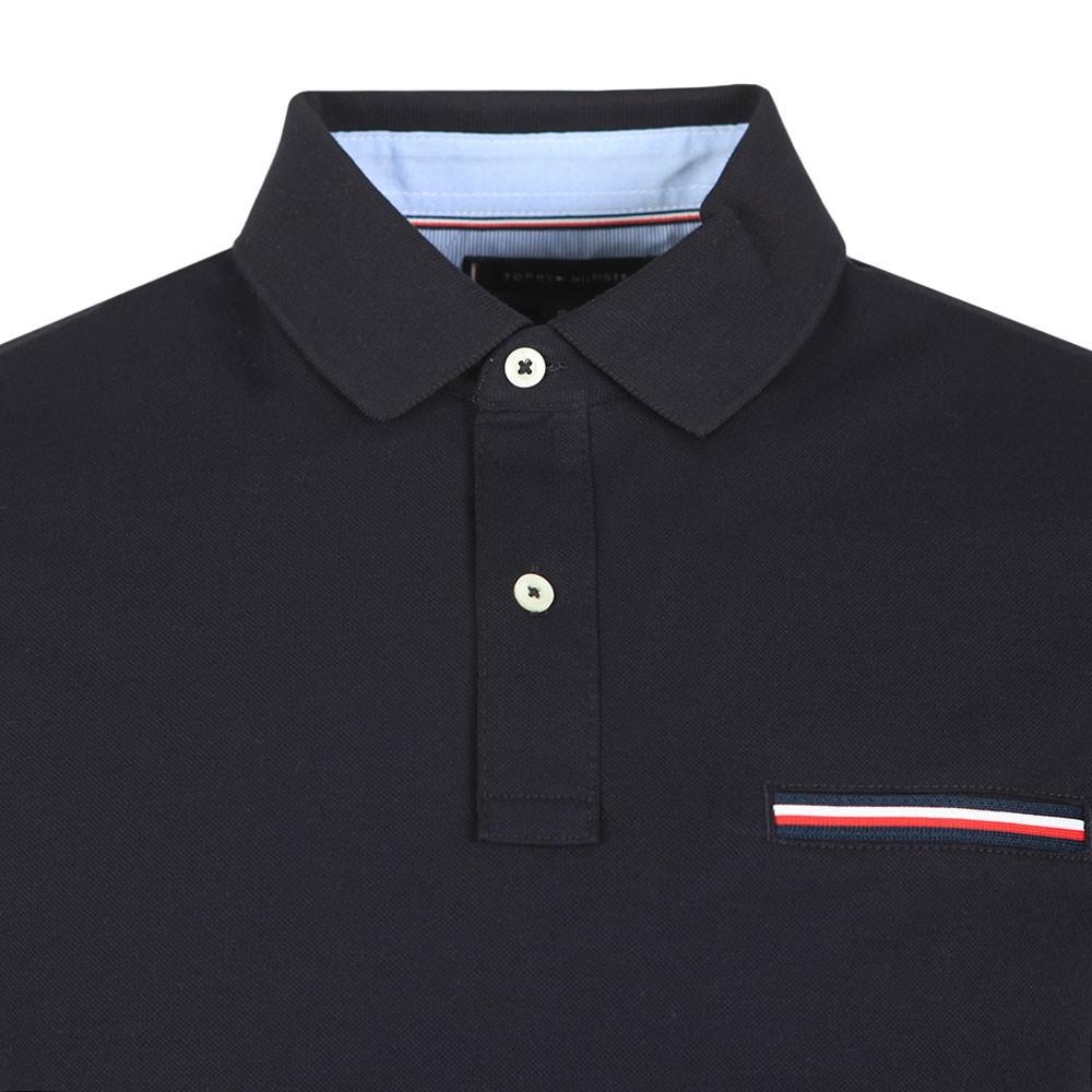 Pocket Detail Slim Polo Shirt main image