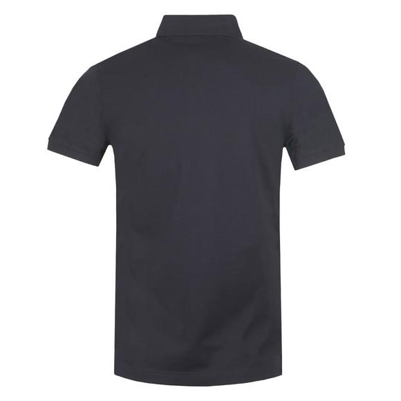 Tommy Hilfiger Mens Blue Pocket Detail Slim Polo Shirt main image