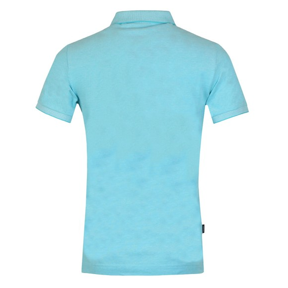 Superdry Mens Turquoise Classic Pique Polo Shirt main image
