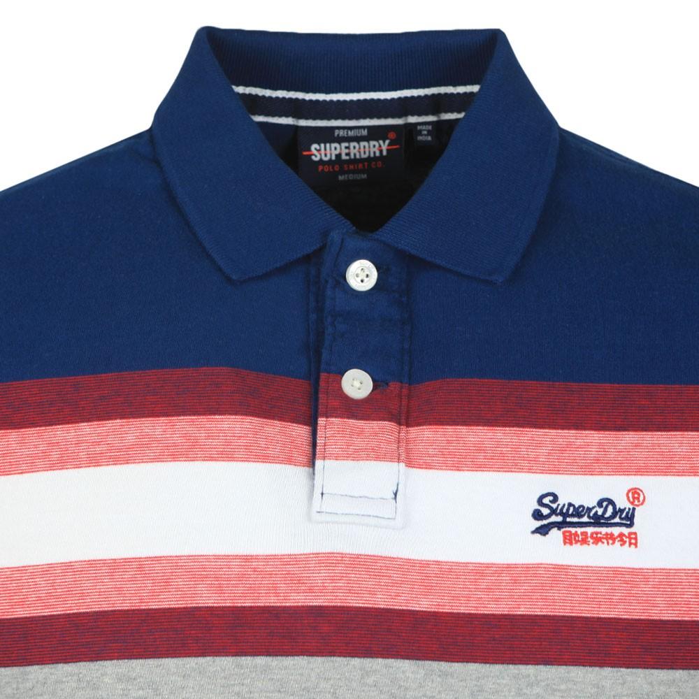 Malibu Stripe Polo Shirt main image