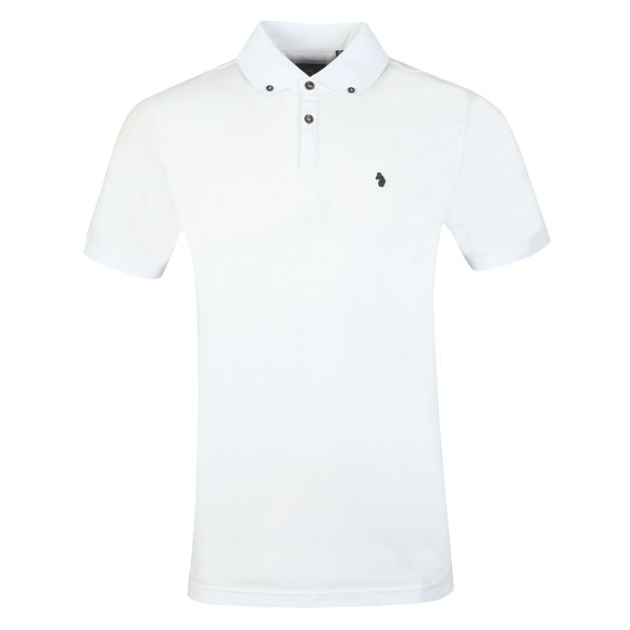 Luke 1977 Mens White New Bil Polo Shirt main image