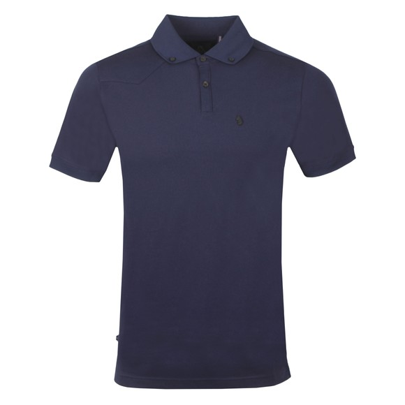 Luke 1977 Mens Blue New Bil Polo Shirt