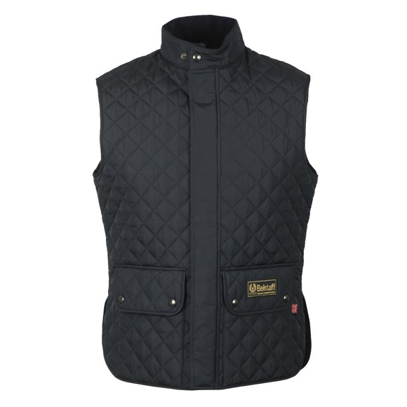 Belstaff Mens Blue Quilted Waistcoat main image