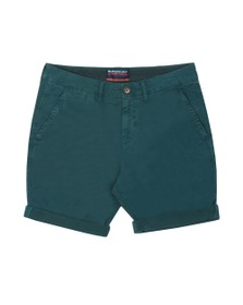 Superdry Mens Green International Chino Short
