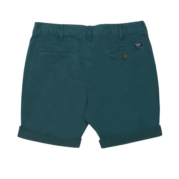 Superdry Mens Turquoise International Chino Short main image