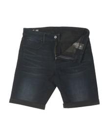 G-Star Mens Black 3301 Slim  Short