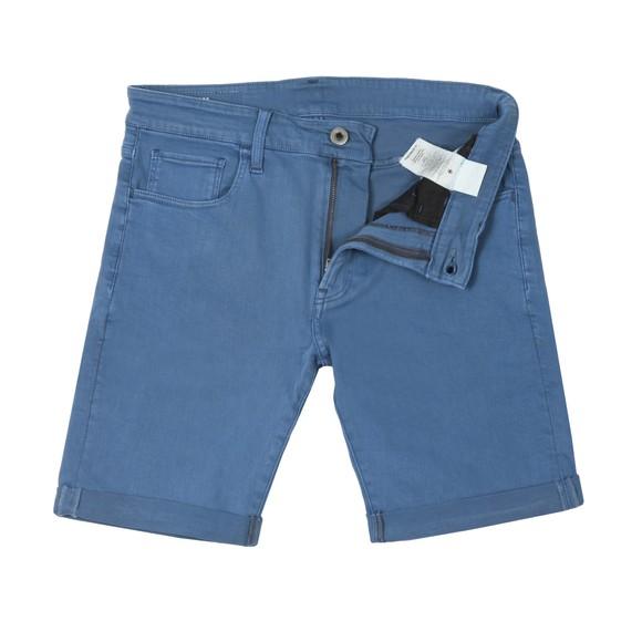 G-Star Mens Blue Slim Short