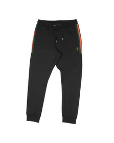 Luke Sport Mens Black And Good As Gold Sweat Joggers