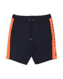 Luke Sport Mens Blue Frankly Sweat Short
