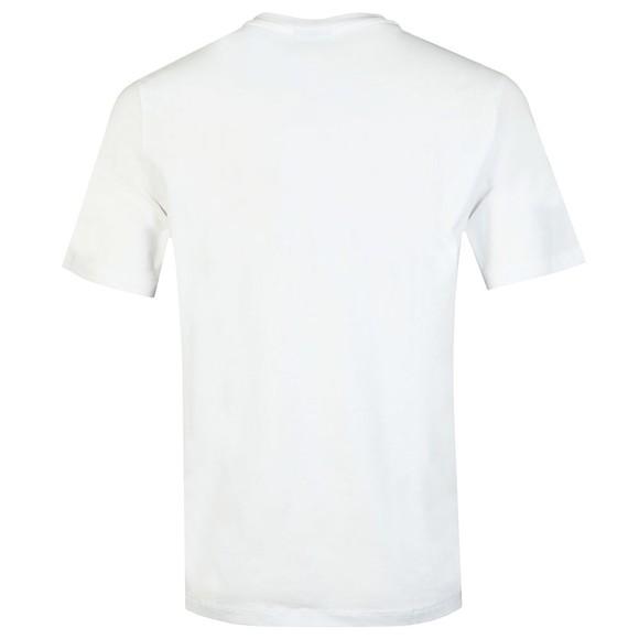 Emporio Armani Mens White Bold Emporio Logo T Shirt main image
