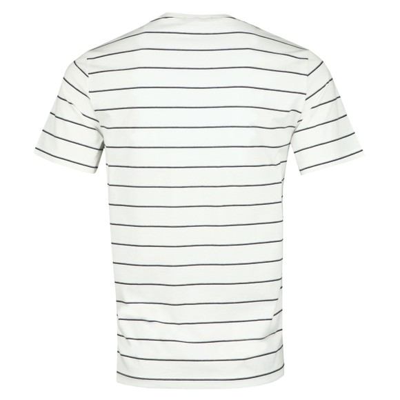 Fred Perry Mens Off-White Fine Stripe T-Shirt main image