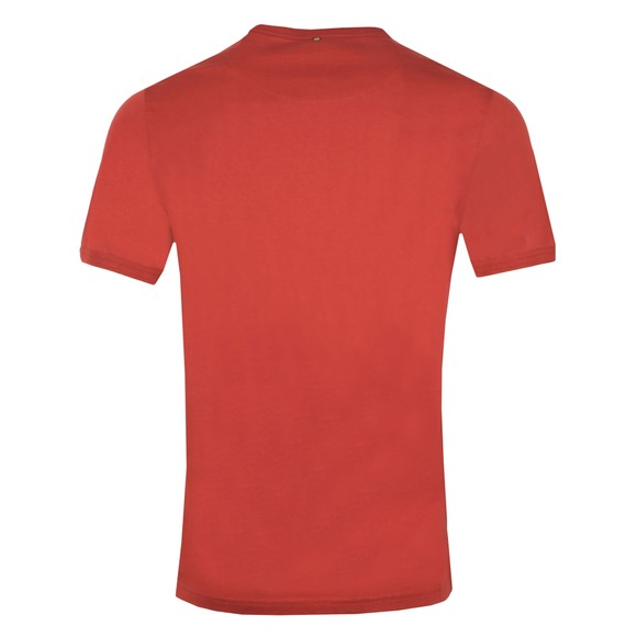 Pretty Green Mens Red Likeminded Chest Badge T-Shirt main image