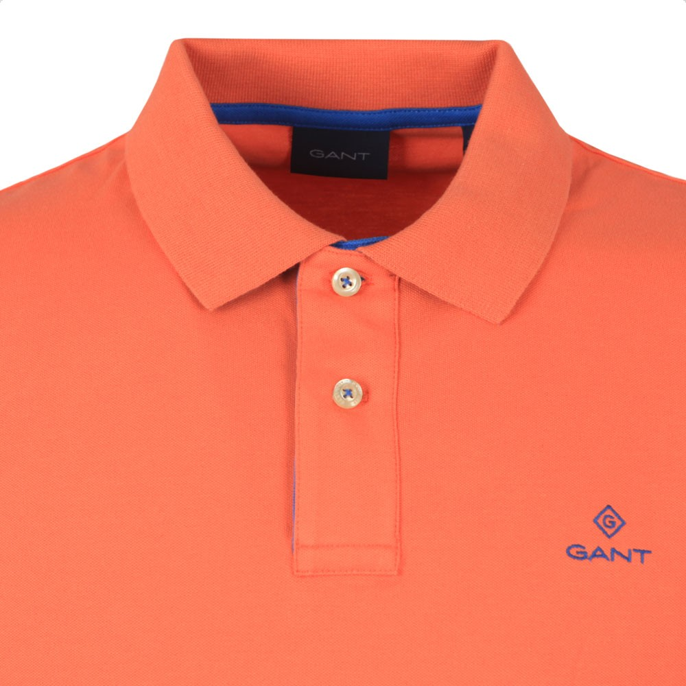 Contrast Collar Rugger Polo Shirt main image