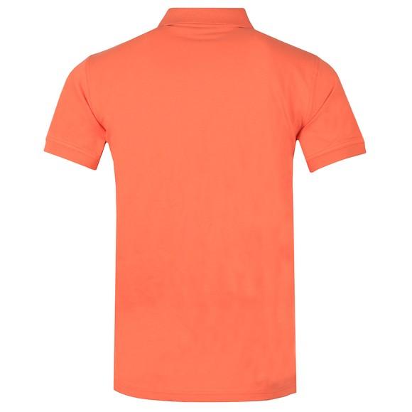 Gant Mens Orange Contrast Collar Rugger Polo Shirt main image