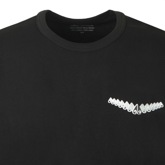 Moose Knuckles Mens Black Ramsay T-Shirt