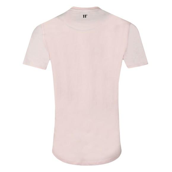 Eleven Degrees Mens Pink Logo T-Shirt main image