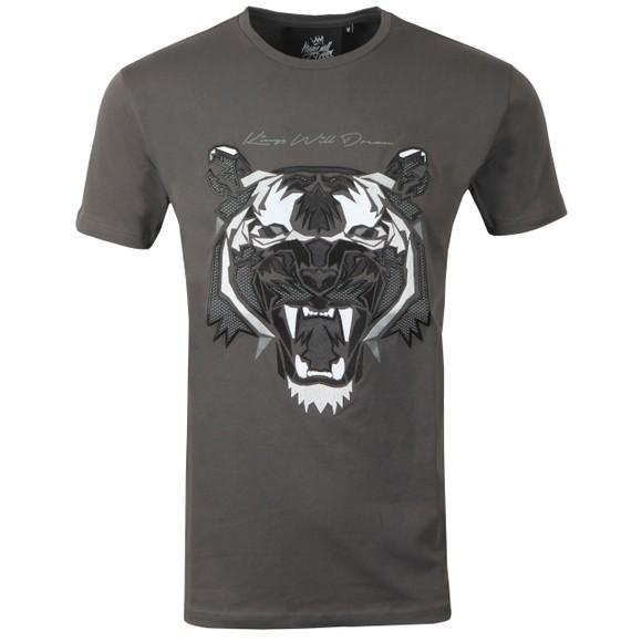 Kings Will Dream Mens Grey Demon T-Shirt main image