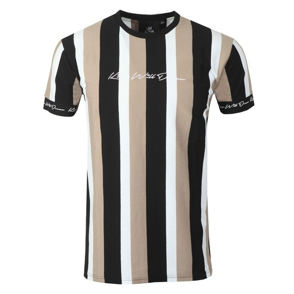 Kings Will Dream Mens Multicoloured Kingsley Stripe T-Shirt