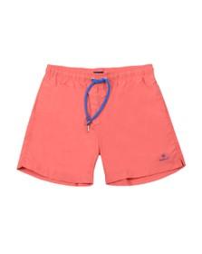 Gant Mens Red Basic Swim Short